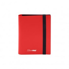 Eclipse Pro Binder 2-Pocket Apple Red