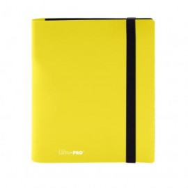 Eclipse Pro Binder 4-Pocket Lemon Yellow