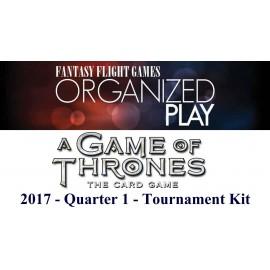 A Game of Thrones LCG 2017 Quarter 1 Tournament Kit