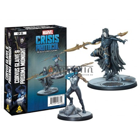 Marvel Crisis Protocol: Corvus Glaive and Proxima Midnight (CP15)