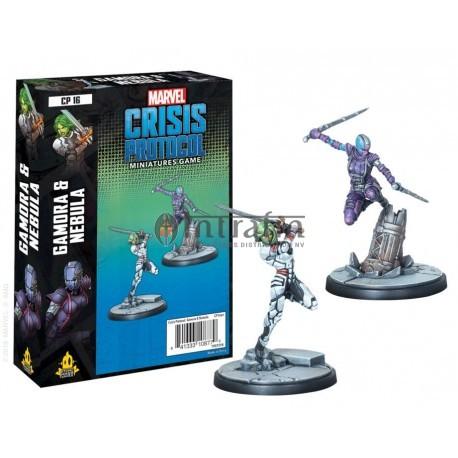 Marvel Crisis Protocol: Gamora and Nebula (CP16)
