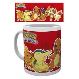 Pokemon Fire Partners Mug
