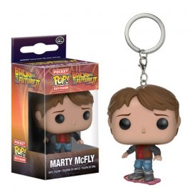 POP Keychain - Back to the Future II - Marty on Hoverboard