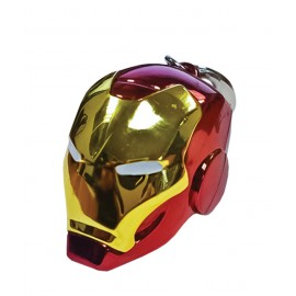 Keychain - Marvel - Helmet Iron Man Color