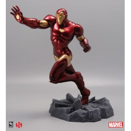 Figurine - Marvel - Civil War - Iron Man Action Pose Statue 25cm