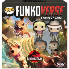Funkoverse: Jurassic Park 100 – Strategy Game ENGLISH