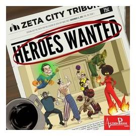 Heroes Wanted (Box Superhero Card Game)