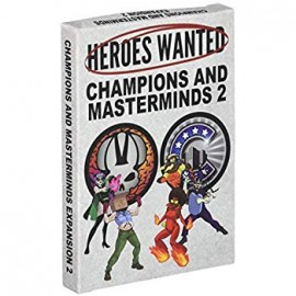 Heroes Wanted Expansion Champions & Masterminds
