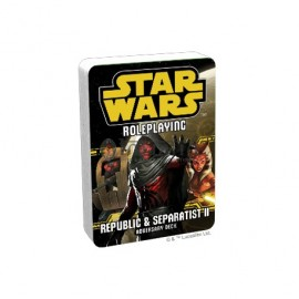 Star Wars Roleplaying: Republic and Separatist Adversary Deck POD
