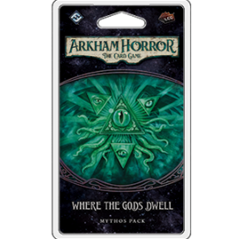 Where the Gods Dwell Mythos Pack: Arkham Horror LCG Exp