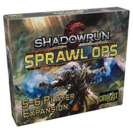 Shadowrun 5 Sprawl Ops 5-6 player expansion