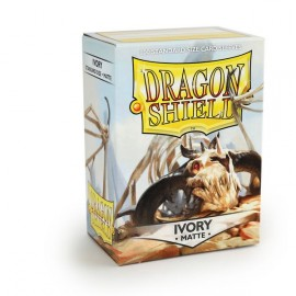 Dragon Shield Matte - Ivory (10x100)