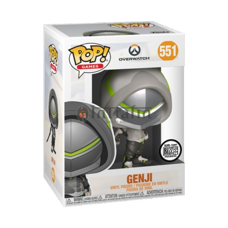 Games:551 Overwatch - Genji (OW2)