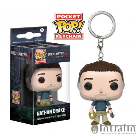POP Keychain - Uncharted - Nathan Drake