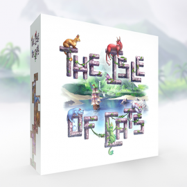 The Isle of Cats boardgame