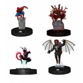 Marvel HeroClix: Spider-Man and Venom Absolute Carnage Booster Brick