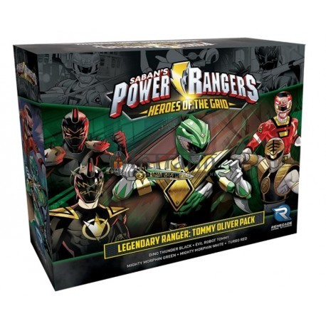 Power Rangers: Heroes of the Grid - Legendary Ranger: Tommy Oliver Pack