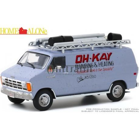 "Home Alone- 1986 Dodge Ram Van ""Oh-Kay Plumbing & Heating"" -1:43"
