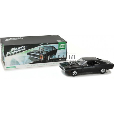 The Fast and the Furious- 1970 Dodge Charger -1:18 Artisan Collection -