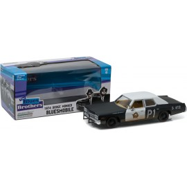 "Blues Brothers (1980) - 1974 Dodge Monaco ""Bluesmobile"" 1:24"