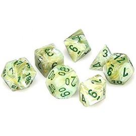 Marble™ Green w/dark green 7‑Die set