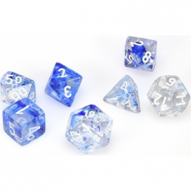 Nebula™ Dark Blue w/white 7‑Die set