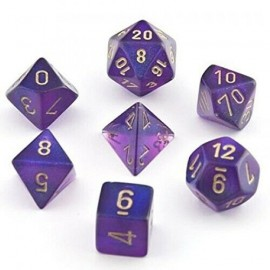 Borealis™ Royal Purple w/gold 7‑Die set