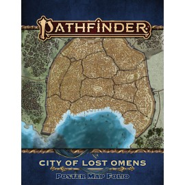 Pathfinder Lost Omens: City of Lost Omens Poster Map Folio (P2)