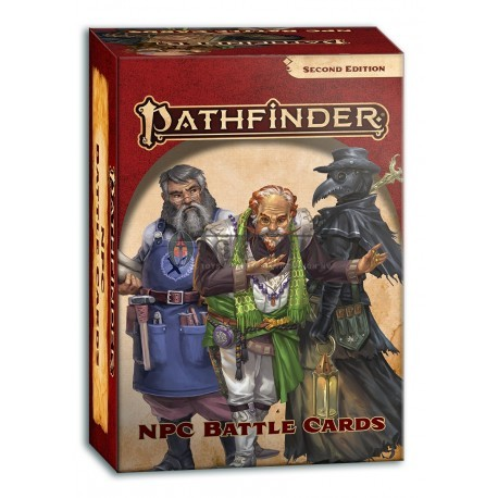 Pathfinder NPC Battle Cards