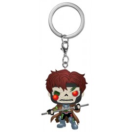 POP Keychain: Marvel Zombies - Gambit