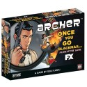 Archer Once You Go Blackmail - a loveletter Game Boxed