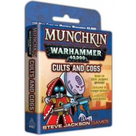 Munchkin Warhammer 40.000 Cults and Cogs - Card Game