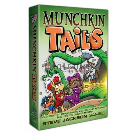 Munchkin Tails - Card Game