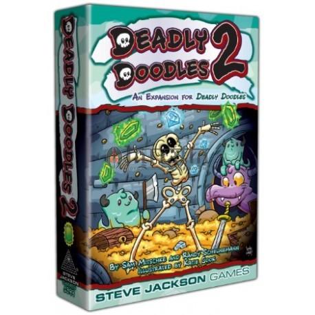 Deadly Doodles 2- Card Game
