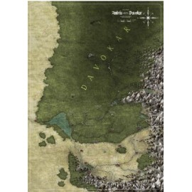Symbaroum RPG Ambria & Davokar Map