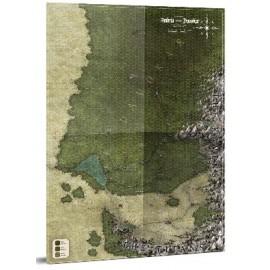 Symbaroum RPG Symbar and Davokar Hex Map
