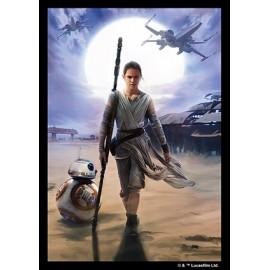 Star Wars Art Sleeves Rey 50p (50)