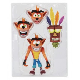 "Crash Bandicoot - 7"" Scale Action Figure- Ultra Deluxe Crash (Case 6)"