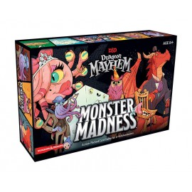 Dungeon Mayhem Monster Madness Card game English