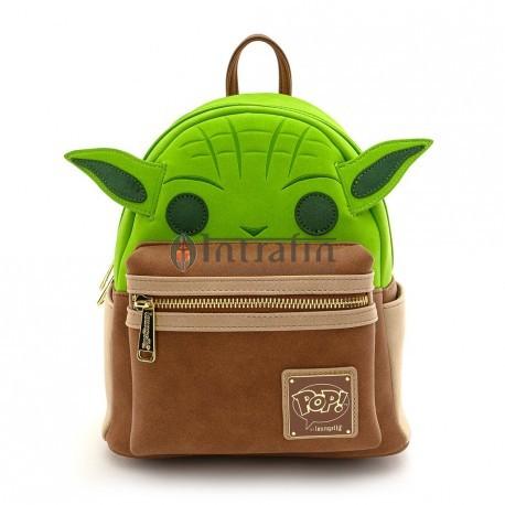 Loungefly Yoda Cosplay Mini Backpack