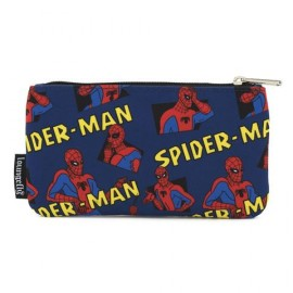 Loungefly Spiderman AOP Nylon Pouch