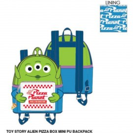 Loungefly Toy Story Alien Pizza Box Mini PU Backpack