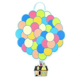 Loungefly Up Balloon House Convertible Mini Backpack