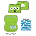 Loungefly Toy Story Alien Eye Zip Around Wallet
