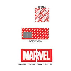 Loungefly Marvel Logo Red Bi-Fold Wallet
