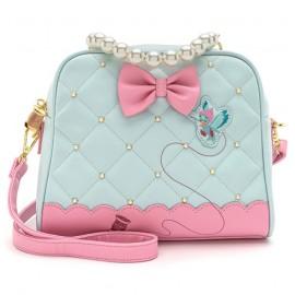 Loungefly Cinderella 80th Anniversary Pearl Handle Crossbody Bag