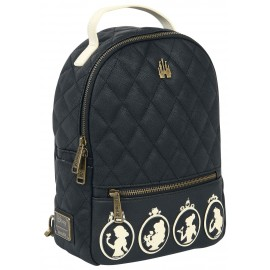 Loungefly DISNEY PRINCESS FAUX LEATHER QUILTED MINI BACKPACK