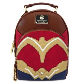 Loungefly WONDER WOMEN FAUX LEATHER MINI BACKPACK