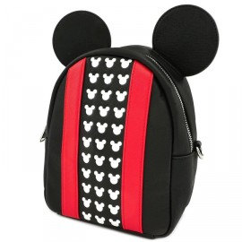 Loungefly MICKEY APPLIQUE AND DEBOSSED DETAIL BACKPACK