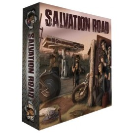 Salvation Road (Postapocalyptic Co-op Boardgame)
